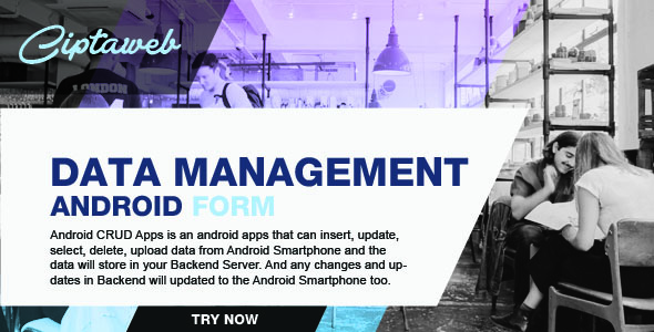 Android Data Management - CodeCanyon Item for Sale