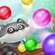 Raccoon Bubble Shooter Full Game Set
