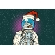 Christmas Astronaut with Dreams of Gingerbread