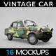 Vintage Car Mockup - GraphicRiver Item for Sale
