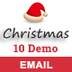Christmas - 10 Responsive Newsletter and Notification Templates - ThemeForest Item for Sale