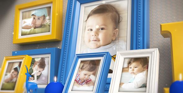 VideoHive Baby Photo Slide 21162660