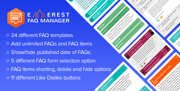 CodeCanyon Everest FAQ Manager Responsive Frequently Asked Questions FAQ Plugin for WordPress 21162825