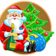 Santa with Bottle - GraphicRiver Item for Sale