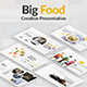 Big Food Creative Google Slide Template