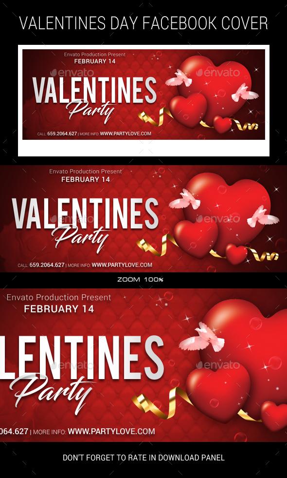 GraphicRiver Valentines Facebook Timeline 21163490