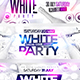 White Party Facebook Cover