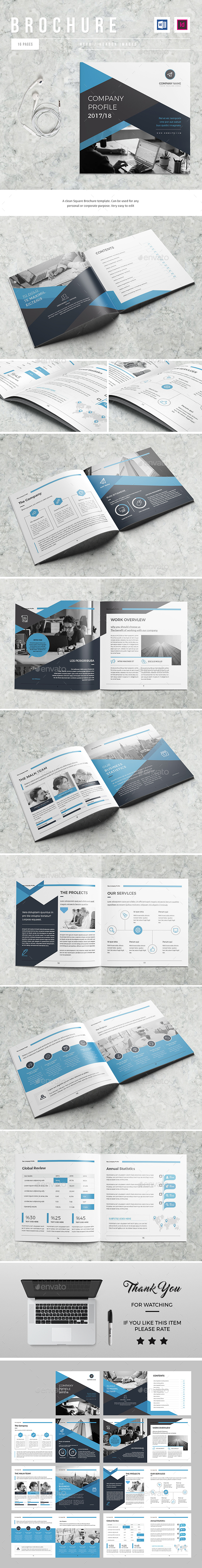 GraphicRiver The Company Profile 21163501