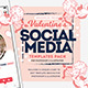 Valentines Instagram Templates - GraphicRiver Item for Sale