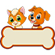 Kitten and Puppy - GraphicRiver Item for Sale