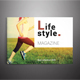 Landscript Lifestyle Magazine - GraphicRiver Item for Sale
