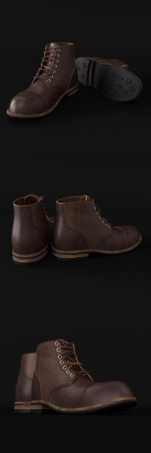 Footwear - 3DOcean Item for Sale