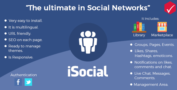 Download Source code              iSocial - Social Network Platform            nulled nulled version