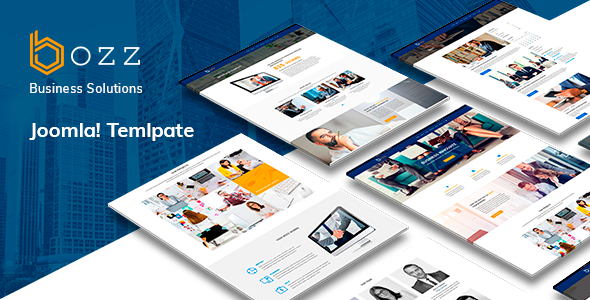 Bozz — Corporate and Business Responsive Joomla Template - Corporate Joomla