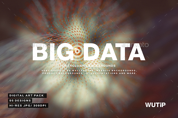 GraphicRiver Big Data Backgrounds 02 21164152