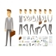 Businessman - Vector Cartoon People Character