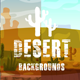 Parallax Desert 2D Backgrounds