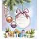 Merry Christmas Banners with Branches Of Tree and Gift Box