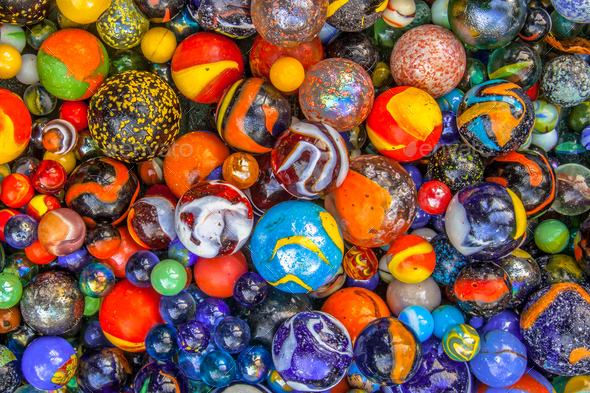 glass marble multicultural community concept - Stock Photo - Images