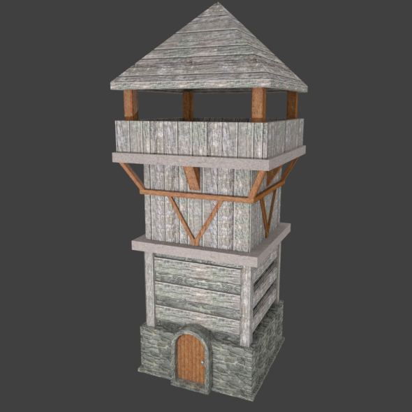 3DOcean Medieval Tower 21165453