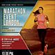 Marathon Event flyer / poster