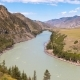 Waves, Spray and Foam, River Katun in Altai Mountains Siberia, Russia - VideoHive Item for Sale