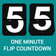 One Minute Flip Countdown - VideoHive Item for Sale