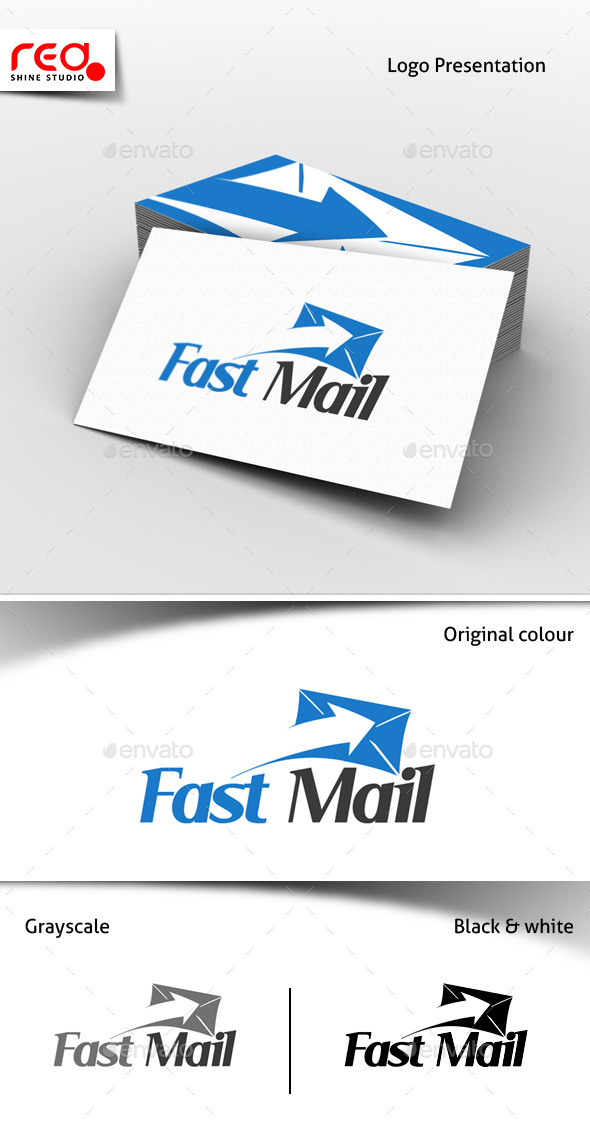 Fast Mail Logo Template - Objects Logo Templates
