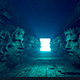 An Ancient Tunnel With Mystical Sculptures - VideoHive Item for Sale