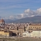 Beautiful Views of Florence and Cathedral Santa Maria Del Fiore, Florence, Italy.