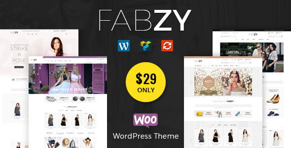ThemeForest Fabzy Multipurpose WooCommerce Theme 21166190