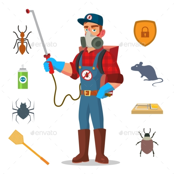 Pest Control Vector - Industries Business