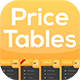 Price Tables - GraphicRiver Item for Sale