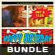 Birthday Flyer Bundle
