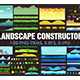 Landscape Constructor Set I - GraphicRiver Item for Sale