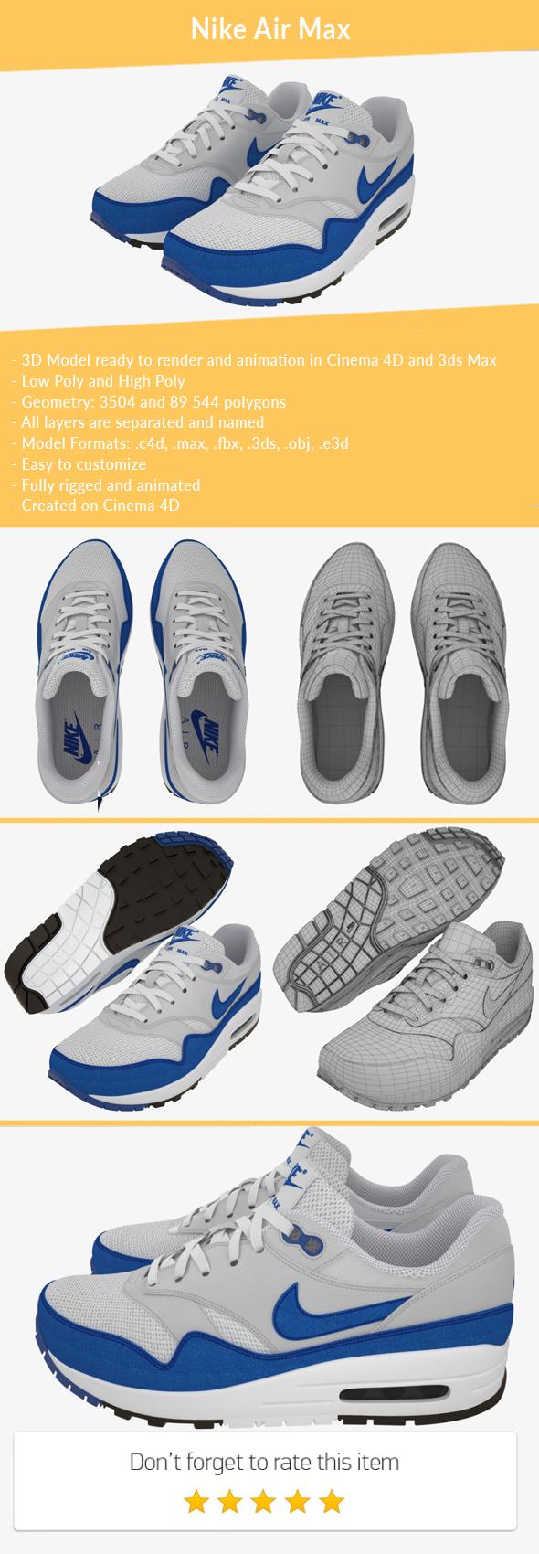 3DOcean Nike Air Max 21166637