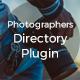 Photographer Directory - WordPress Plugin - CodeCanyon Item for Sale