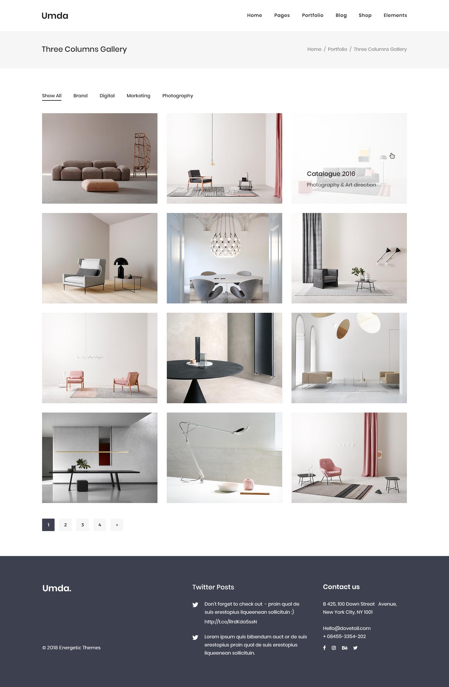 Umda - Innovative Multipurpose Creative Template by energeticthemes