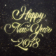 Gold Happy New Year 2018 Greeting - VideoHive Item for Sale