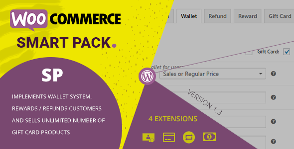 WooCommerce Smart Pack - Gift Card, Wallet, Refund & Reward - CodeCanyon Item for Sale
