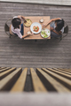 two young woman having lunch together - PhotoDune Item for Sale