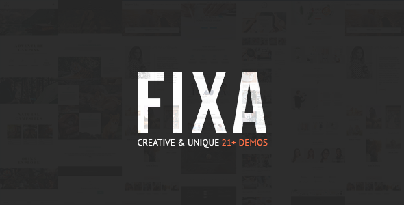 Fixa WooCommerce WordPress Theme