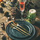 Christmas or New Years eve holiday table setting - PhotoDune Item for Sale