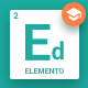 Elemento for Education - Sketch Template - ThemeForest Item for Sale