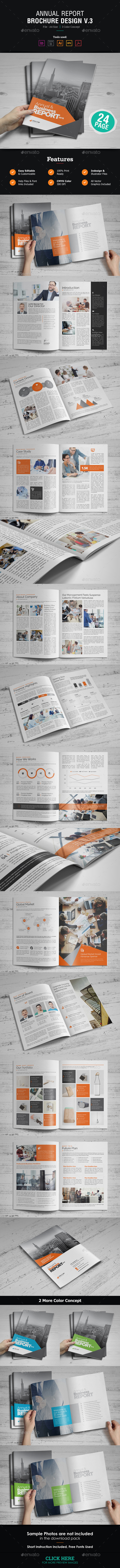 GraphicRiver Annual Report Design v3 21168598