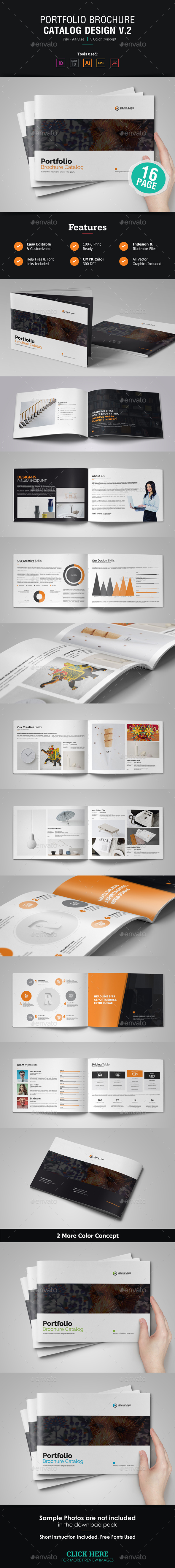 Portfolio Brochure Template v2 - Corporate Brochures