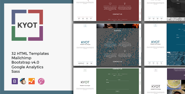 ThemeForest KYOT Coming Soon 20241449