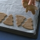 Woman Is Placing Shaped Holiday Cookies on the Oven Tray - VideoHive Item for Sale