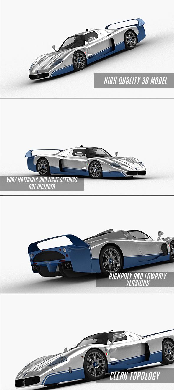 3DOcean Maserati MC12 2005 21169560