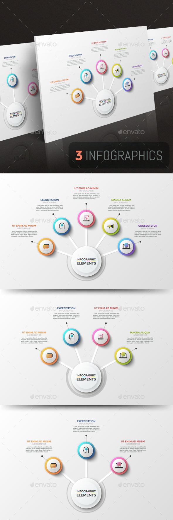GraphicRiver Modern Infographic Choice Templates 3 Items 21137882